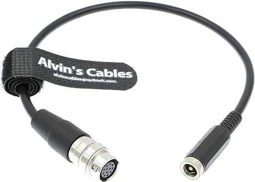 """Hirose 12 Pin para Cable Hembra DC 12v para GH4 B4 2//3/"""" Fujinon Nikon Canon Lente"""