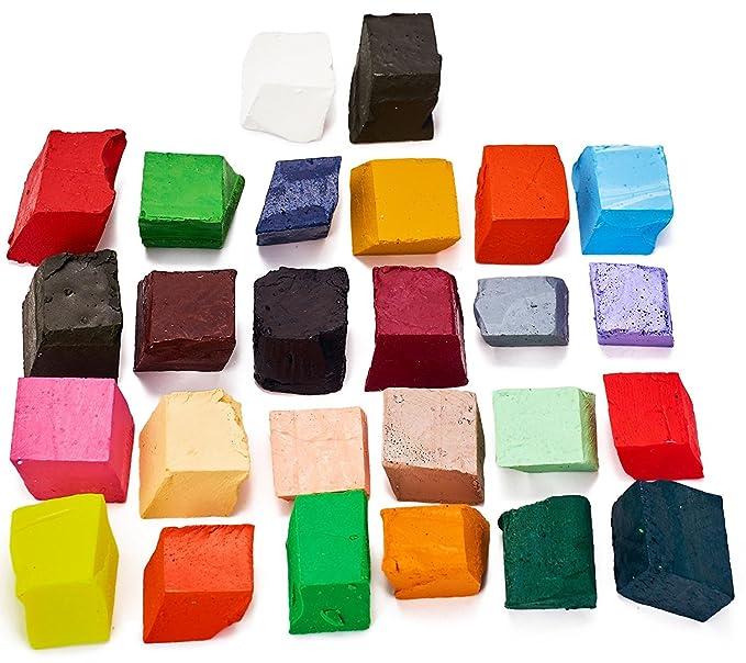26 colores Dye para 150 kg de cera - vela de cera Dye - un gran elección de colores - muestra - Juego de fichas de Dye para hacer velas vela: Amazon.es: ...