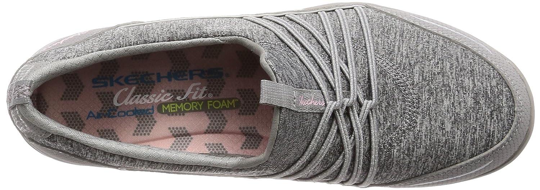 Skechers Women's Empress Solo Mood Slip On B076TBF6FH 8 B(M) US|Gray