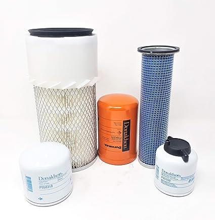 amazon com: bobcat s130 s150 s160 s175 s185 s205 w/kubota v2203 eng   maintenance filter kit: automotive
