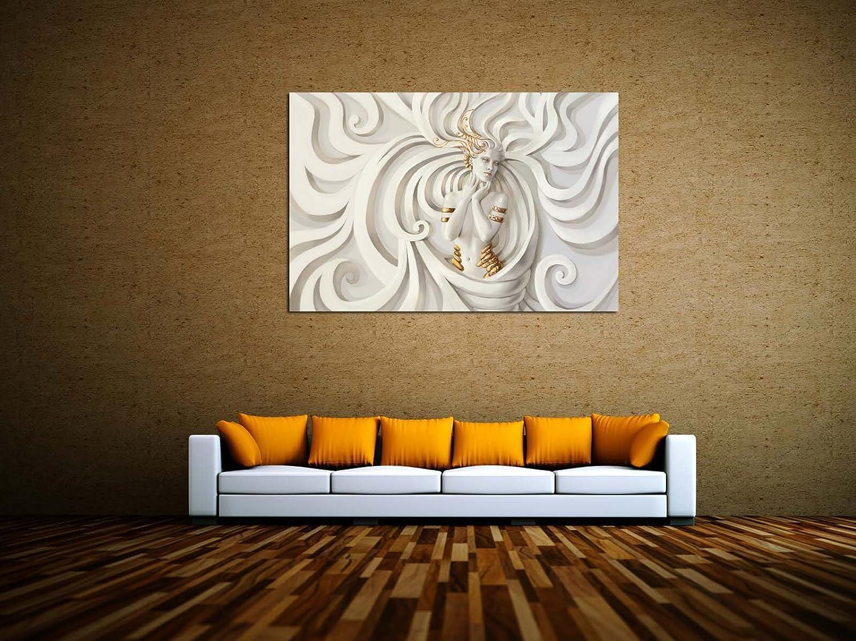 Fantasie Relief Leinwandbilder auf Keilrahmen A05980 Wandbild Poster