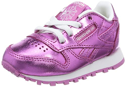 48cac662e06 Reebok Baby Girls  Classic Leather Metallic Low-Top Sneakers  Amazon ...