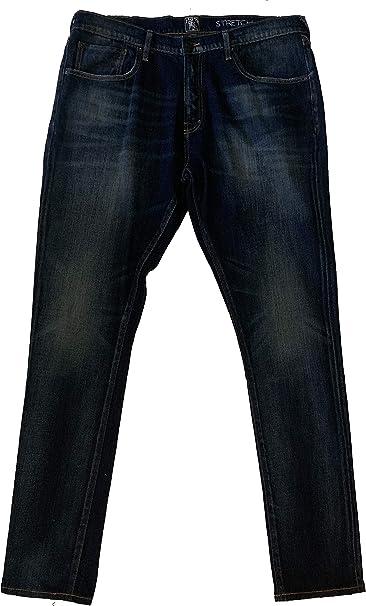 Mens Fury Tapered-Leg Indigo Selvedge Jean PRPS Goods /& Co