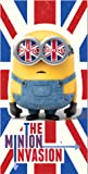 Despicable Me Minions Union Jack Serviette de plage