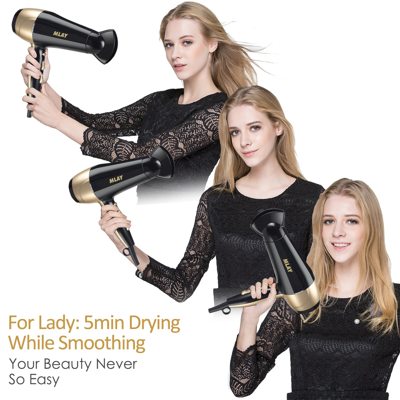 9mm Curling Iron Wand Hair Curling Wand Tourmaline Ceramic Barrel Hair Curler for Men Women