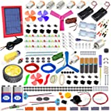 Kit4Curious All in one DIY kit - Solar, Electronic, Robotics, Electrical, Chemistry, Art, Magnetic, Invention Kit with Booklet