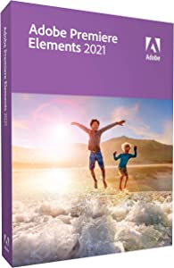 Adobe Premiere Elements 2021|Premiere|1 Device|1 Year|Windows/Mac|Disc