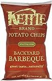 Kettle Brand Potato Chips, Backyard Barbecue, 8.5-Ounce Bag