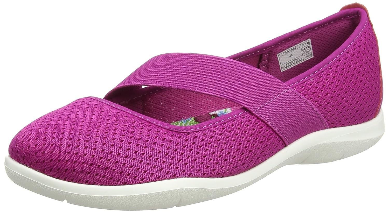 Crocs Women's Swiftwater Mary Jane Flat B01H6ZR57M 5 B(M) US|Vibrant Violet/White