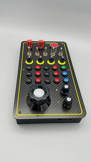 Mobeartec Racecontrol Pro - USB Simracing Buttonbox für iRacing, Assetto  Corsa, Raceroom Racing Experience, Project Cars 2, Rfactor 2, Dirt Rally,