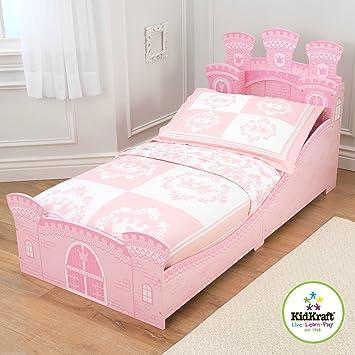 KidKraft Princess Schloß Junior Kleinkinder Bett + Sprungfedermatratze