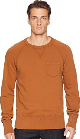 e2862a3b Todd Snyder + Champion Men's Pocket Sweatshirt Chestnut XX-Large. Roll over  image to ...