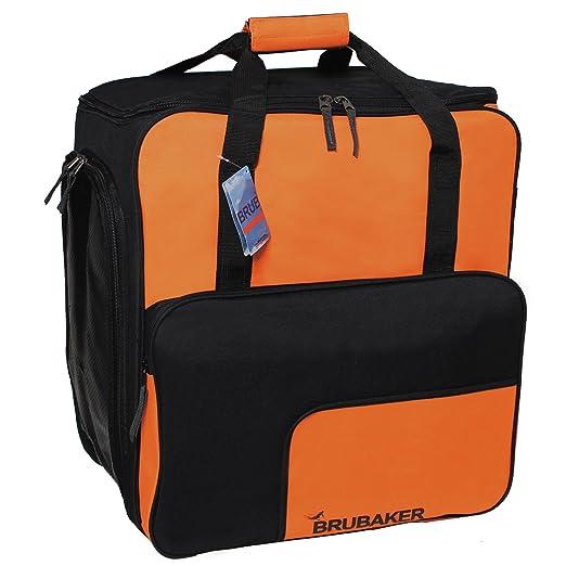 10 opinioni per BRUBAKER scarponi borsa casco borsa SUPER FUNCTION 2.0 zaino bag scarpone da sci
