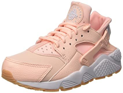 timeless design 32ccf 7dcdc Image Unavailable. Image not available for. Color  Nike Women s Air  Huarache Run Sunset Tint White Gum Yellow ...