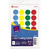 Avery Removable Print or Write Color DTDOm Coding Labels, Round, 0.75 Inches, 1008 Count (2 Pack)
