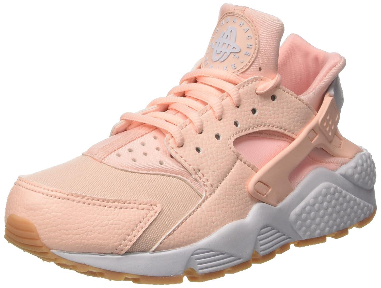 Nike Damen Air Huarache Run Trainer Rosa (Sunset Tint Weiß Gum Gelb) 37.5 EU