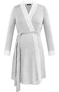 54906c6b10e23 Dance Fairy Molliya Maternity Nightdress Nursing Nightgowns Pregnancy Labor  Robe…