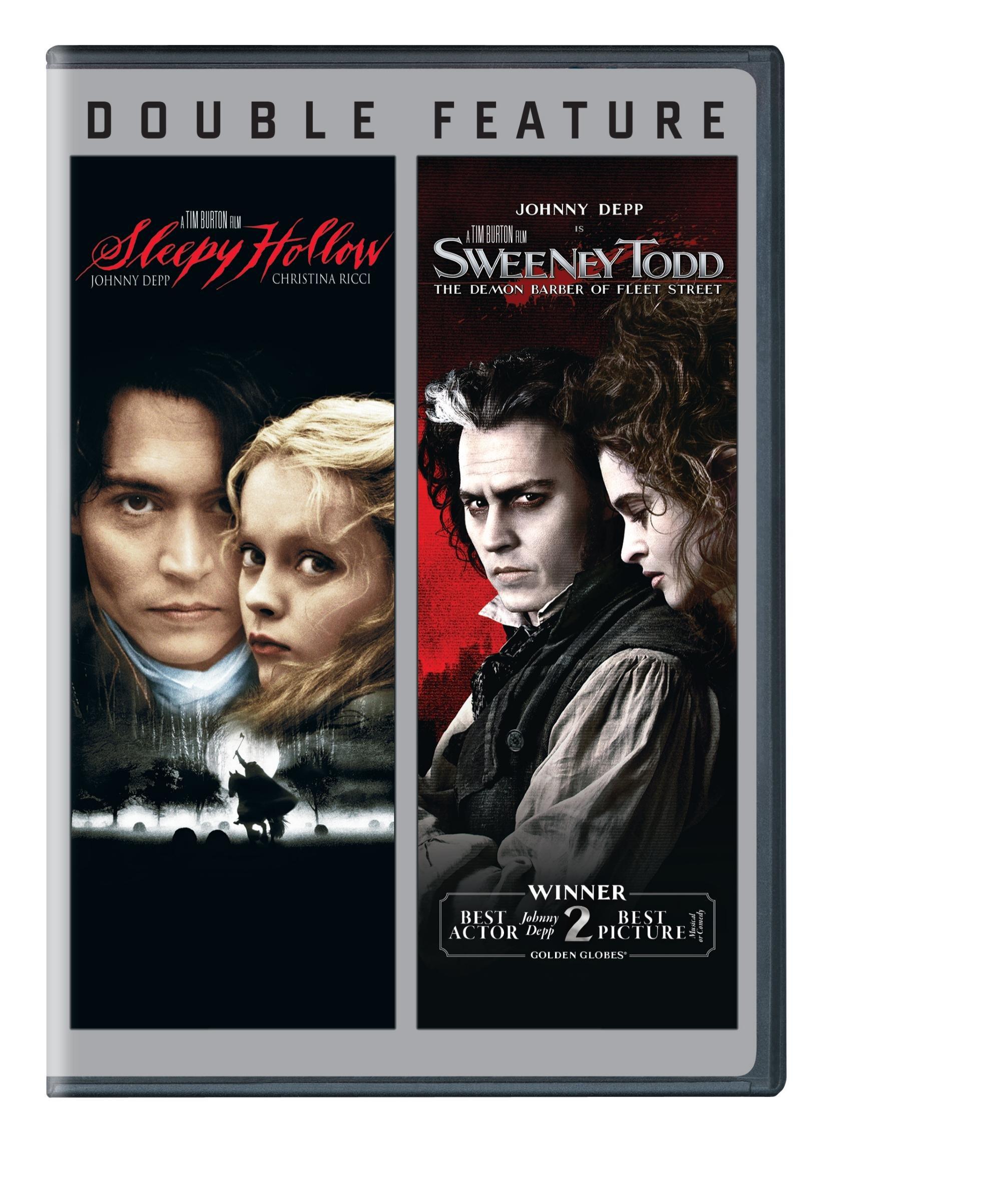 DVD : Sleepy Hollow / Sweeny Todd: The Demon Barber Of Fleet Street (Eco Amaray Case, 2 Pack, 2PC)