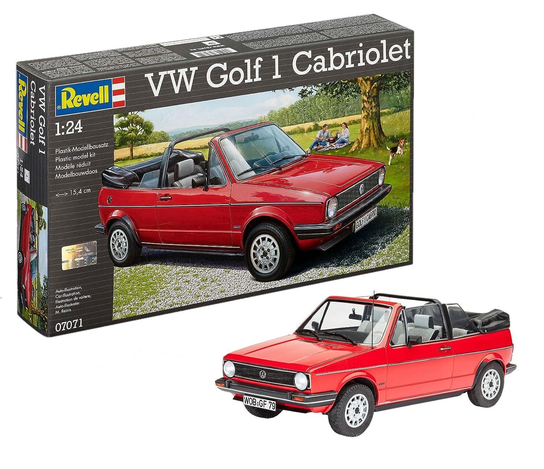Revell Modellbausatz Auto 124 Volkswagen Vw Golf 1 Cabriolet Im