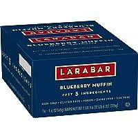 Deals on 16 Pack Larabar Gluten Free Bar, Blueberry Muffin 1.6 Oz