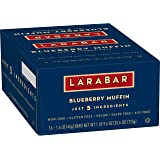 Larabar Gluten Free Bar, Blueberry Muffin, 1.6 Ounce (Pack of 16)