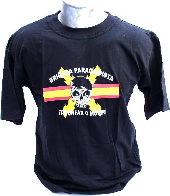 Camiseta BRIPAC Calavera Bandera ESPAÑA Centro - Superior Talla L - Regalo DE PORTAFOTOS Zara: Amazon.es: Ropa y accesorios