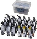 ペンギンフィギュア 24体セット お片付けBOXつき