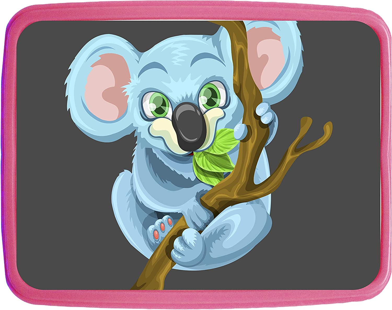 Koala Bear Girls Pink Preschool Toddler Childrens Backpack /& Lunch Box Set