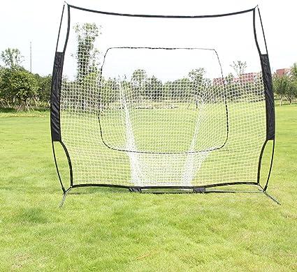 "7x7/"" Baseball Softball Practice Hitting Batting Rebound Goal Training Cage Net"
