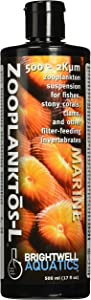 Brightwell Aquatics Zooplanktos L - Zooplankton Suspension for Fishes, Stony Corals, Clams, and Other Filter-Feeders