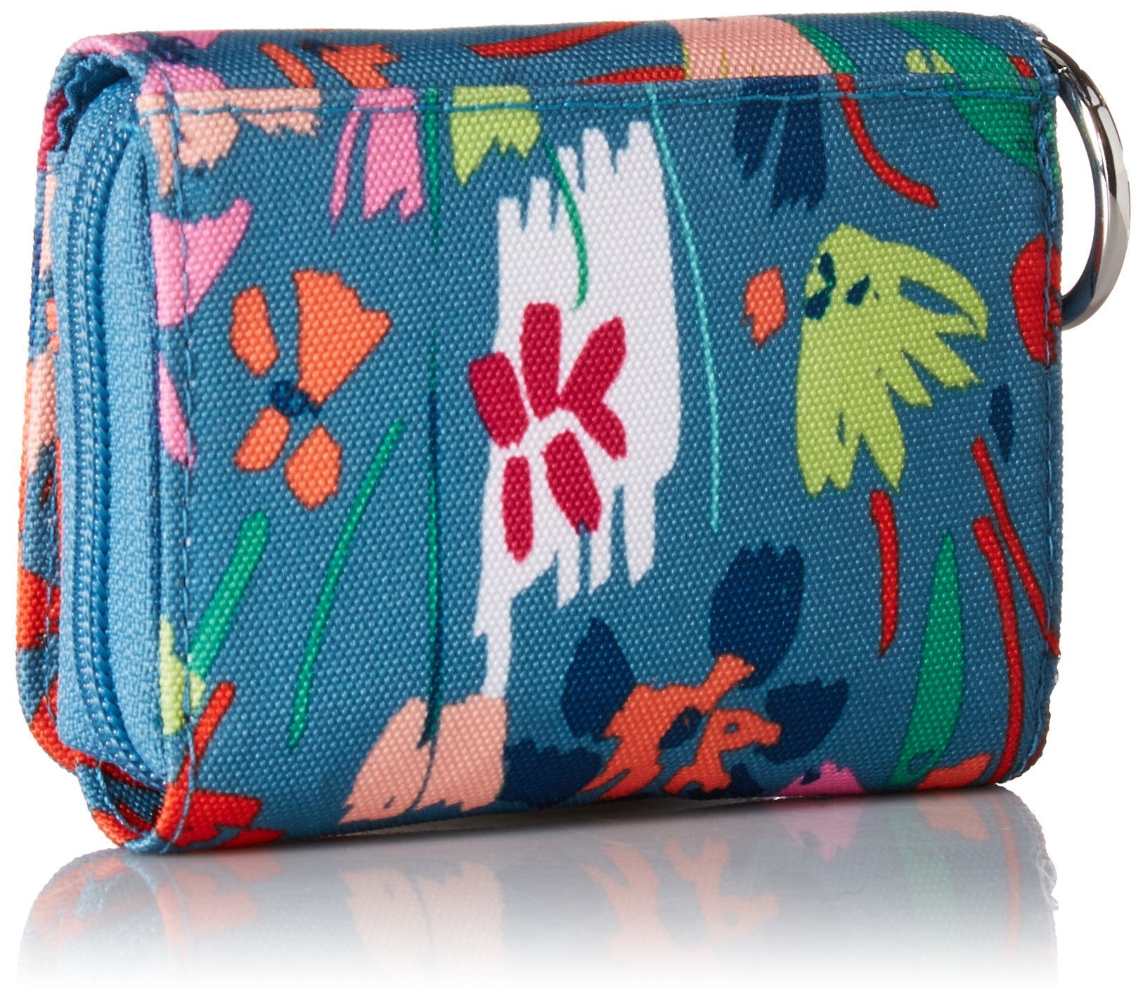 Vera Bradley Lighten Up RFID Card Case, Polyester, Superbloom Sketch by Vera Bradley (Image #2)