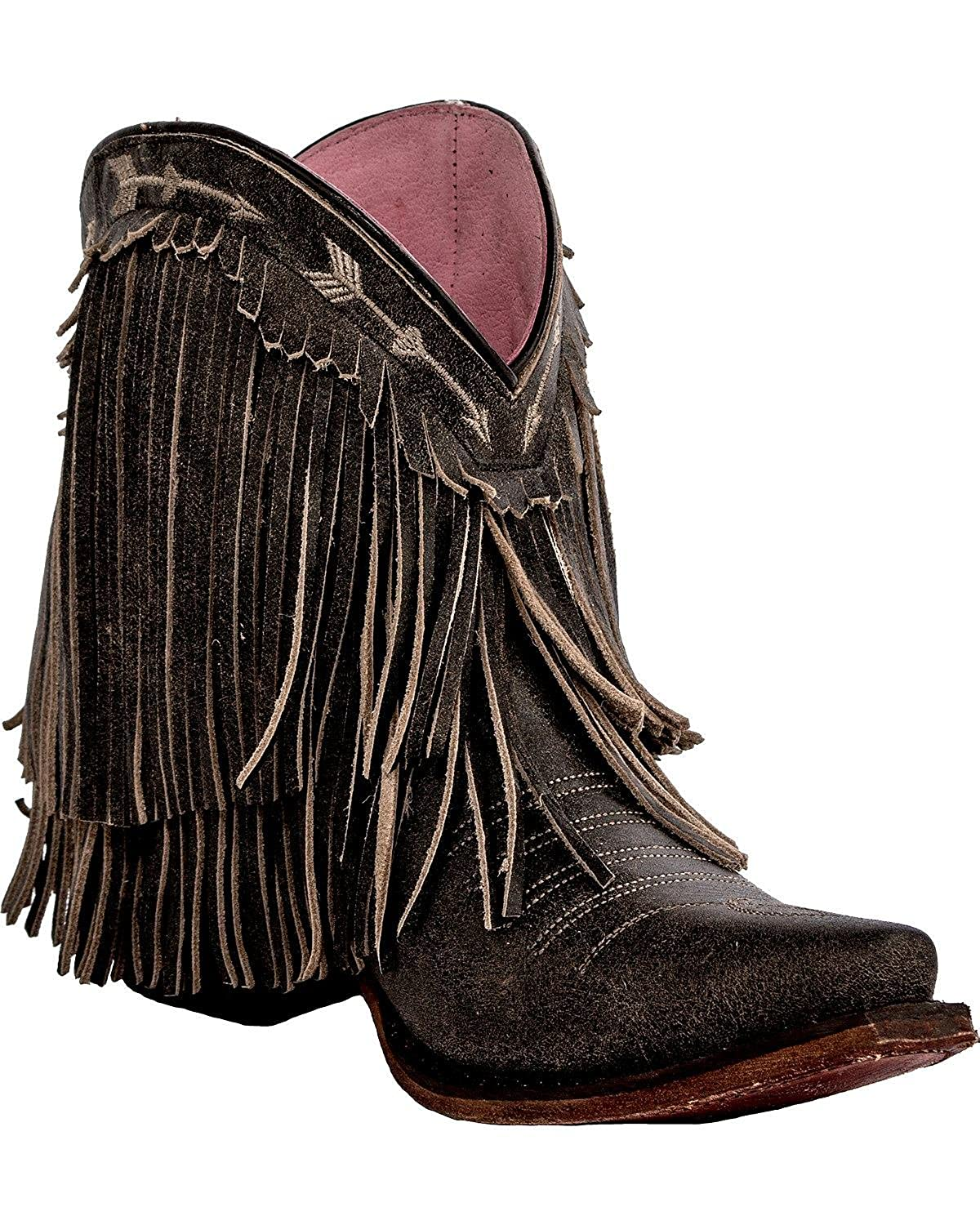 chic Lane Women's Junk Gypsy By Rustic Spitfire Boot Snip Toe
