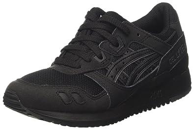 finest selection af564 46902 4 UK, Black (Nero)) - Asics Unisex Adults' Gel-Lyte Iii ...