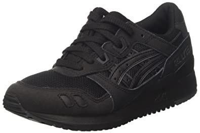asics mens leather trainers