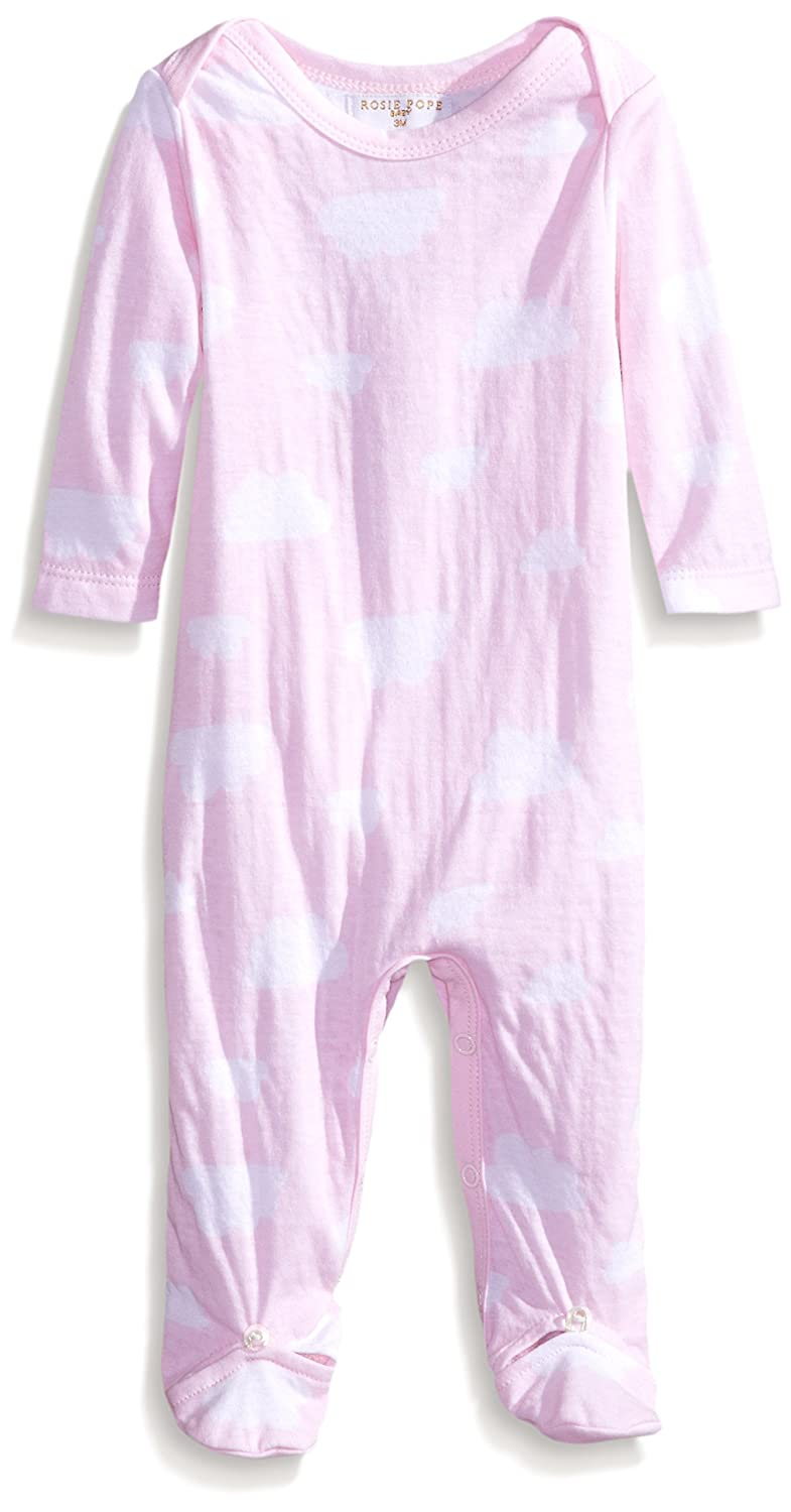 Rosie Pope Baby Girls Cloud Printed Coverall