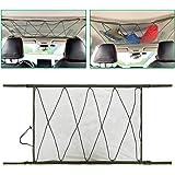 Ceiling Cargo Net Pocket, Storage Bag Car Roof Long Trip Tent Putting Quilt Children's Toy Towel Sundries Van SUV Car…