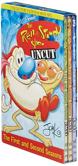 Amazon com: The Ren & Stimpy Show: The First and Second
