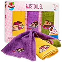 """ISTOWEL Decorative Kitchen Towels and Dishcloths Sets - 12"""" x 20"""" Cotton Terry Dish Towels for Drying Dishes and…"""