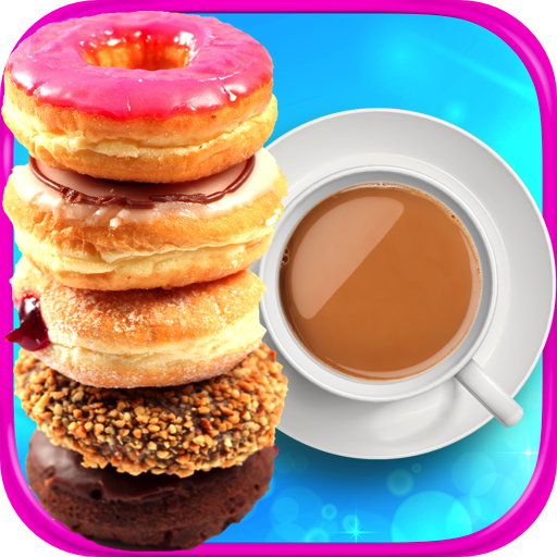 Coffee & Donuts - Kids Dessert & Food Maker Games FREE