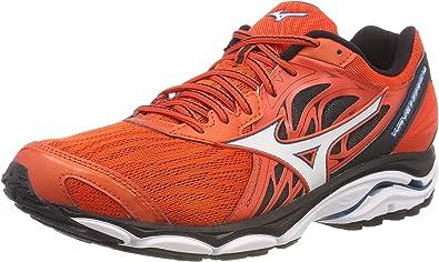 Mizuno Wave Inspire 14, Zapatillas para Hombre, Multicolor (Ctomato/Whi/Turkisht 001), 39 EU: Amazon.es: Zapatos y complementos