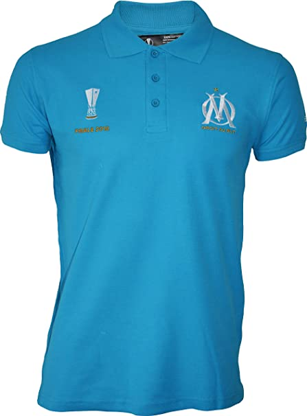 OLYMPIQUE DE MARSEILLE Polo Om Collection Officielle Taille Homme