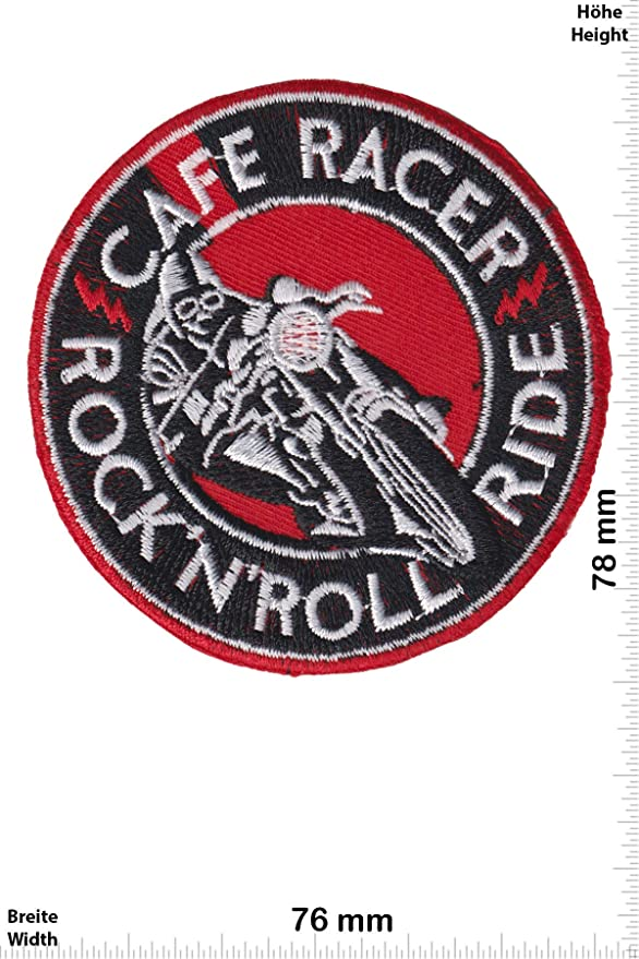 Parches - Cafe Racer - Rock'n'Roll Ride