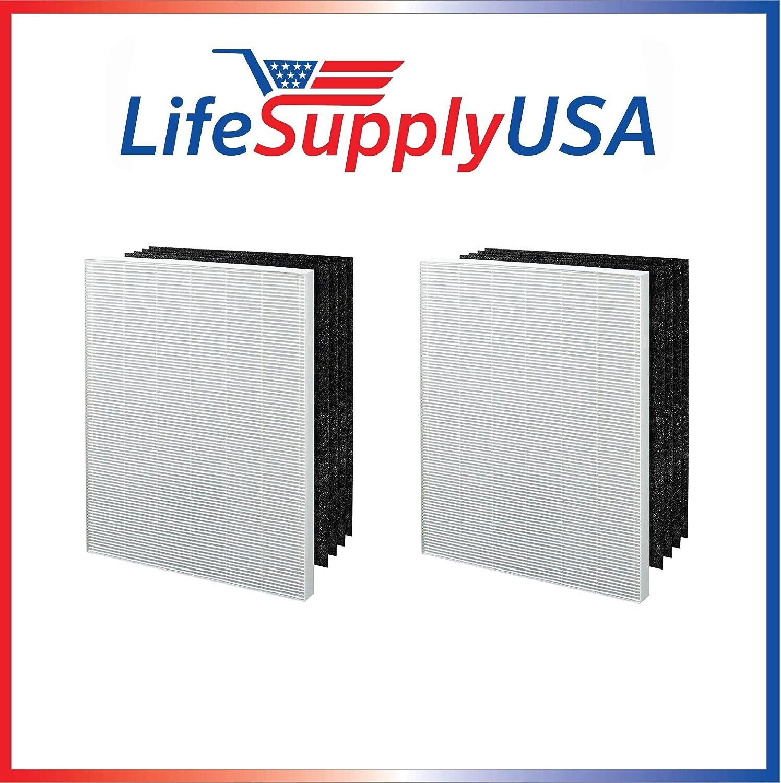 LifeSupplyUSA 2 Pack Filtro de Repuesto para aspiradora Electrolux EL024 EL017 EL500 Carbono Filtro de Aire: Amazon.es: Hogar