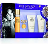 Elizabeth Taylor White Diamonds Gift Set for Women (Pack of 4)