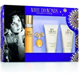 Elizabeth Taylor White Diamonds 4 Piece Gift Set for Women, 4 count
