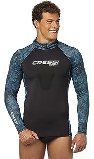 Amazon.com: Cressi camuflaje pesca submarina Rash Guard ...
