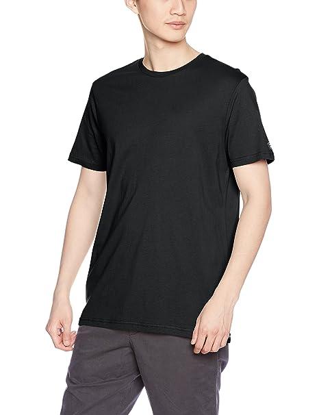 Volcom Men's Solid Short Sleeve T-Shirt, Black, Small