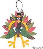 Turkey Craft Kit - Crafts for Kids u0026 Decoration Crafts  sc 1 st  Amazon.com : scarecrow paper plate craft - pezcame.com