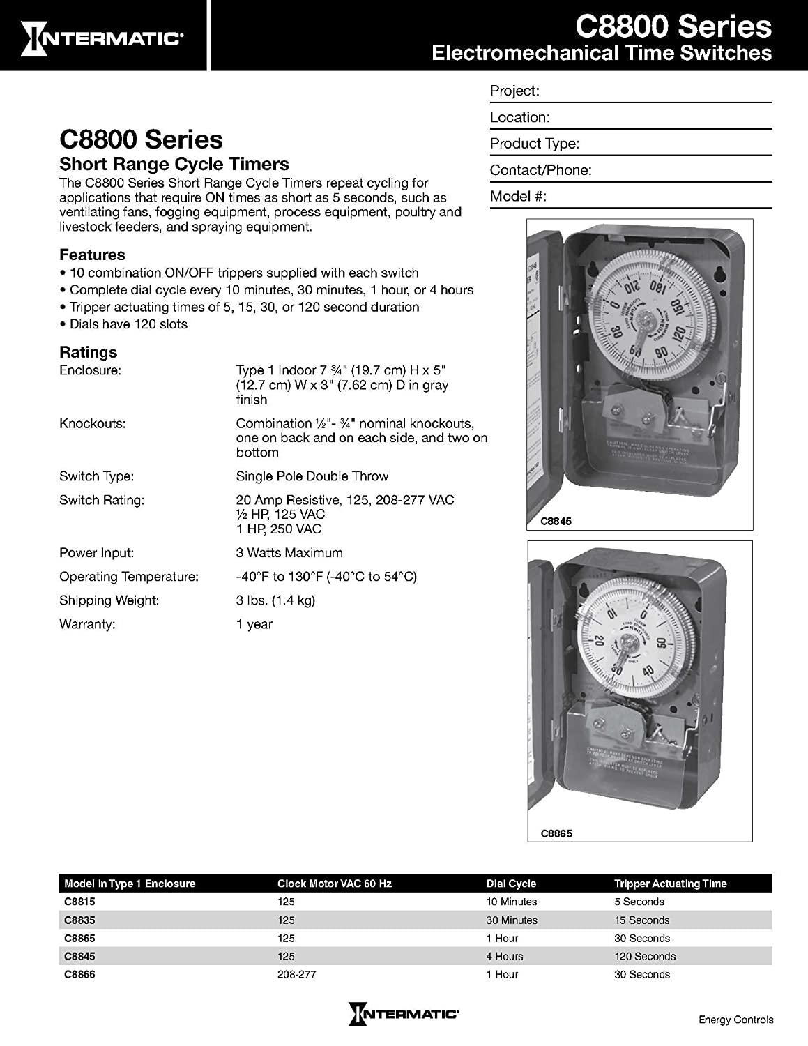 Intermatic C8866 Timer Diagram For Get Free Image About Wiring