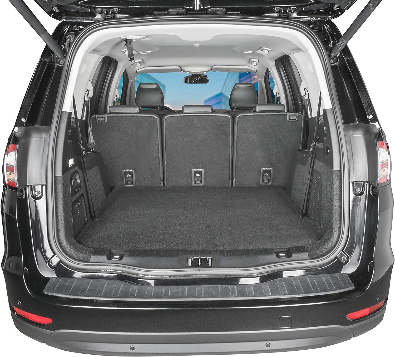 Walser 29047 Autoteppich Cutty 150x100 Cm Zuschneidbarer Autoteppich Universale Schutzmatte Automatte Kofferraummatte Schmutzfangmatte Schwarz Auto